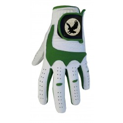 "Leather ""Eagle"" Golf Glove Green Trim"