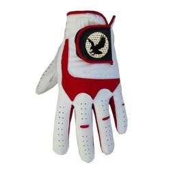 "Leather ""Eagle"" Golf Glove Red Trim"