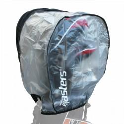 Masters golf bag clear rain hood.