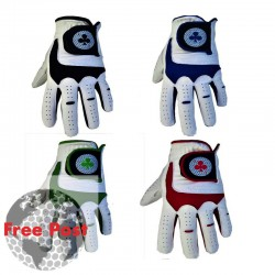 100% Sheep Leather Glove Ace Design, Various Trim Options Available