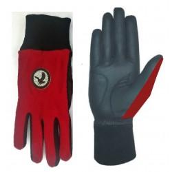 Red Winter Golf Glove Pair