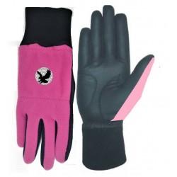 Pink Winter Golf Glove Pair
