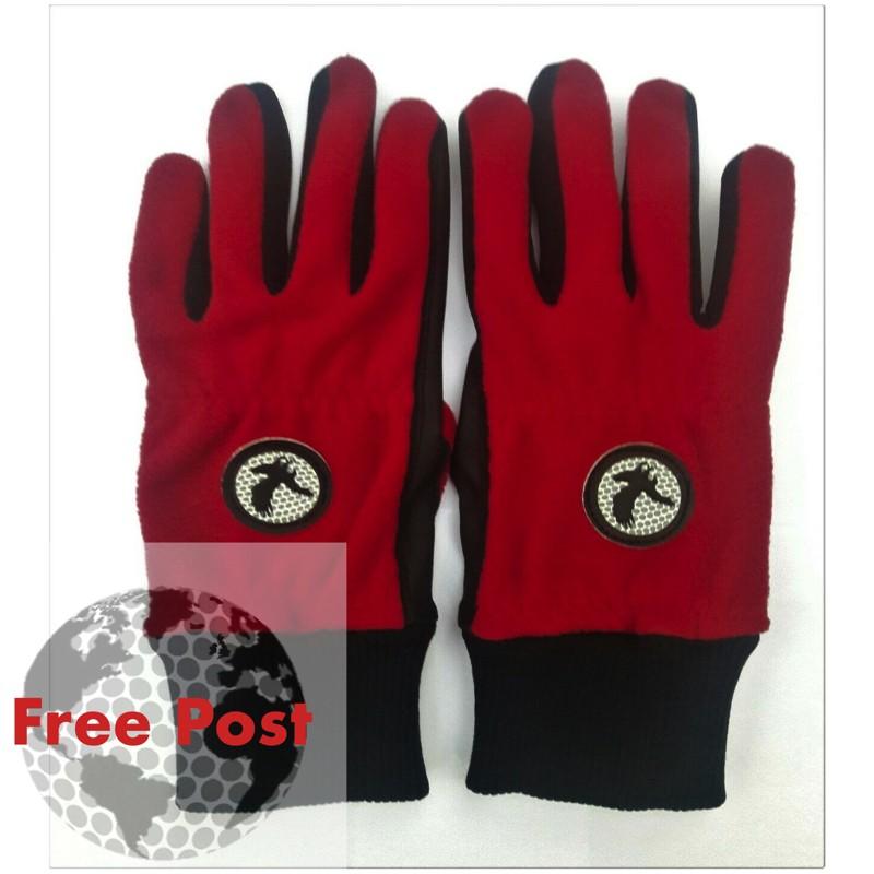 Winter Golf Glove Pair, Coloured Eagle Design