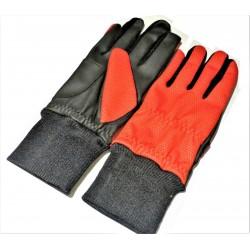 Red Winter Ladies Golf Glove Pair