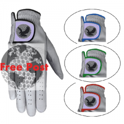 100% Full Sheep Leather Golf Glove- Plastic Free