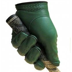 Green Leather Golf Glove
