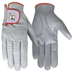 Leather Golf Glove Red Trim