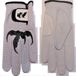 "Leather ""Talon"" Golf Glove Black Trim"